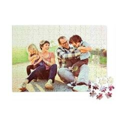 Kişiye Özel 240 Parça Dikdörtgen Puzzle - Thumbnail