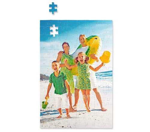 Kişiye Özel 99 Parça Dikdörtgen Puzzle