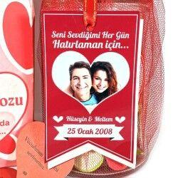 Kişiye Özel Aşk Dolu Kavanoz - Thumbnail
