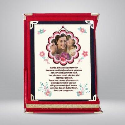 - Kişiye Özel Benim Çiçek Annem Plaket