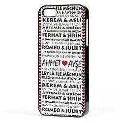 - Kişiye Özel Efsane Aşıklar iPhone Telefon Kılıfı