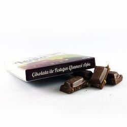 Kişiye Özel Fotoğraflı Fıstıklı Çikolata - Thumbnail