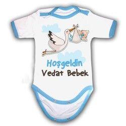 Kişiye Özel Hoş Geldin Bebek Body - Thumbnail