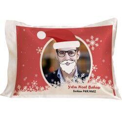 - Kişiye Özel Noel Baba Yılbaşı Yastığı