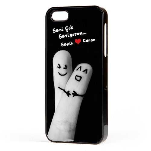 Kişiye Özel Parmakların Aşkı iPhone Kılıf
