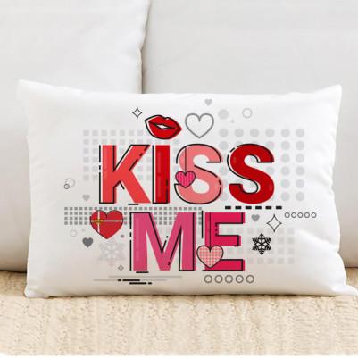 - Kiss Me Motto Tasarım Yastık