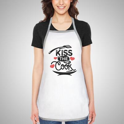Kiss The Cook Mutfak Önlüğü - Thumbnail