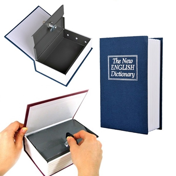 Kitap Görünümlü Kasa