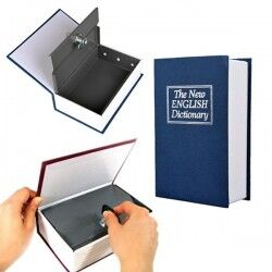 Kitap Görünümlü Kasa - Thumbnail