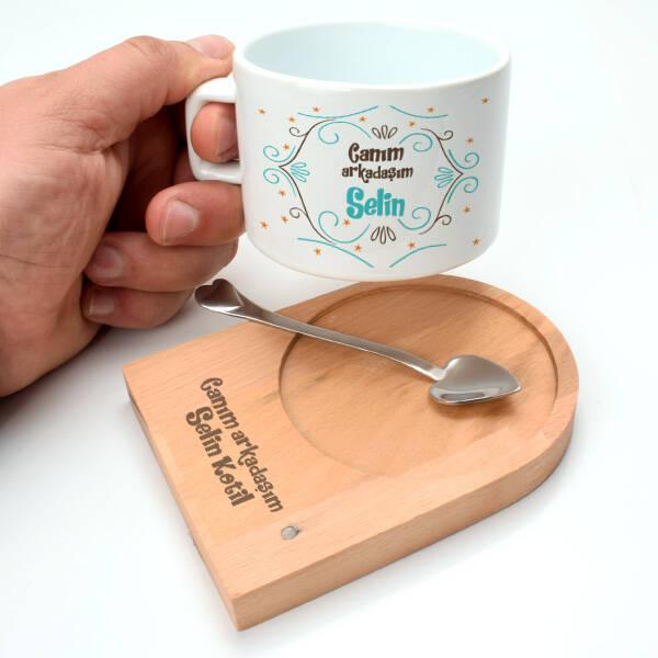 Kız Arkadaşa Hediye Özel Çay Fincanı