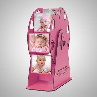 - Kız Bebeğe Özel Fotoğraflı Dönme Dolap