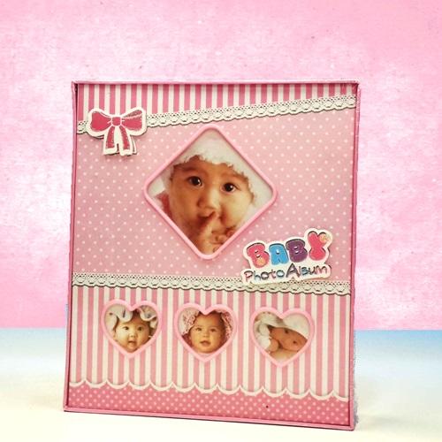 Kız Bebek Fotoğraf Albümü Pembe