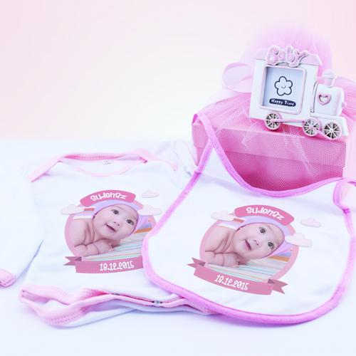 Kız Bebeklere Özel Hediye Seti
