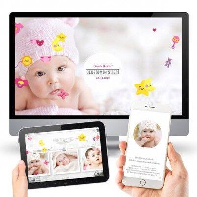 Kız Bebeklere Özel WEB Sitesi - Thumbnail