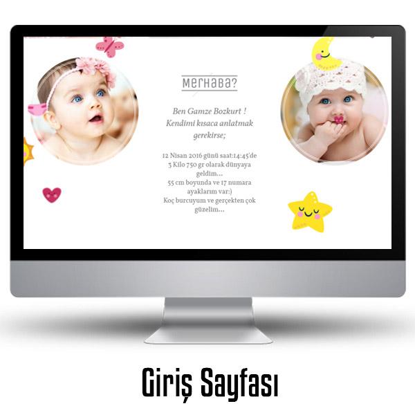 Kız Bebeklere Özel WEB Sitesi