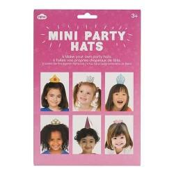- Kız Çocuklar İçin Mini Parti Şapkaları