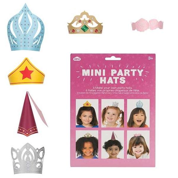Kız Çocuklar İçin Mini Parti Şapkaları