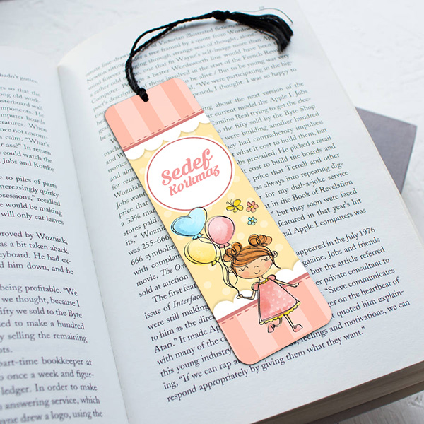 Kız Çocuklara Özel Kitap Ayracı
