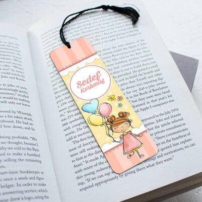 - Kız Çocuklara Özel Kitap Ayracı