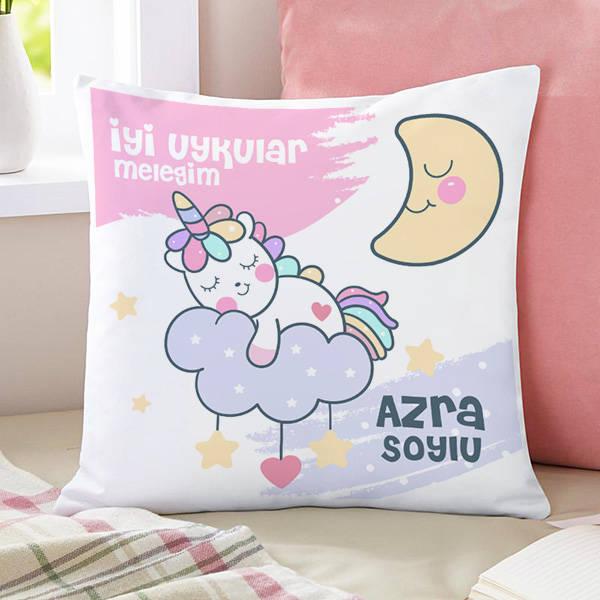 Kız Çocuklara Özel Sevimli Yastık