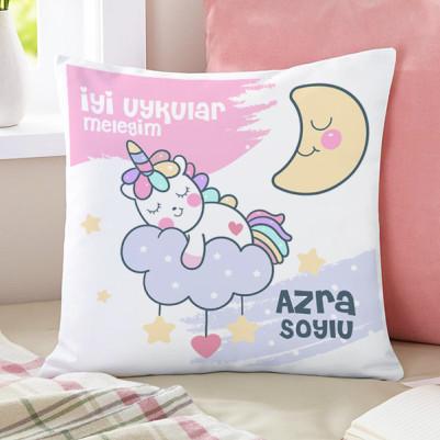 - Kız Çocuklara Özel Sevimli Yastık