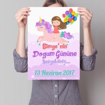 - Kız Çocuklarına Özel Poster