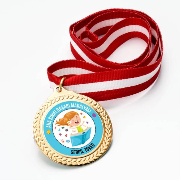 Kız Öğrenci Ana Sınıfı Başarı Madalyası