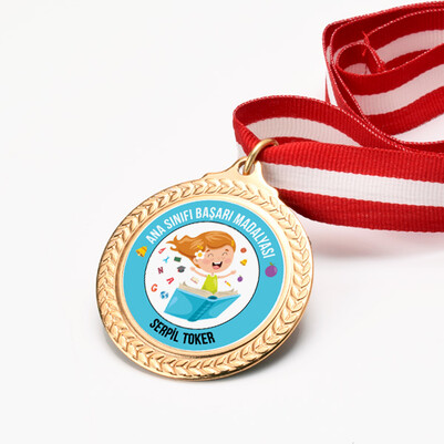 - Kız Öğrenci Ana Sınıfı Başarı Madalyası