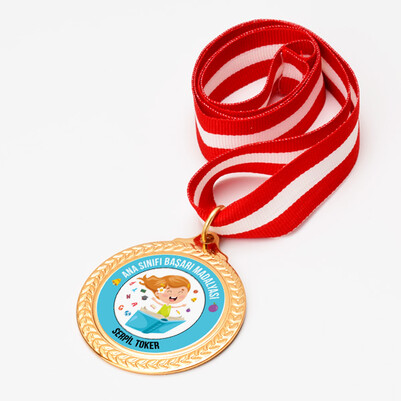 Kız Öğrenci Ana Sınıfı Başarı Madalyası - Thumbnail