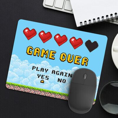 - Klasik Game Over Mousepad