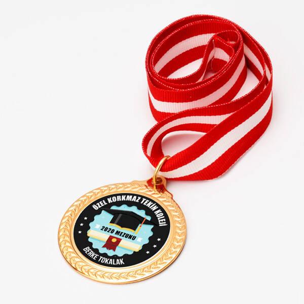 Kolejlere Özel Mezuniyet Madalyonu