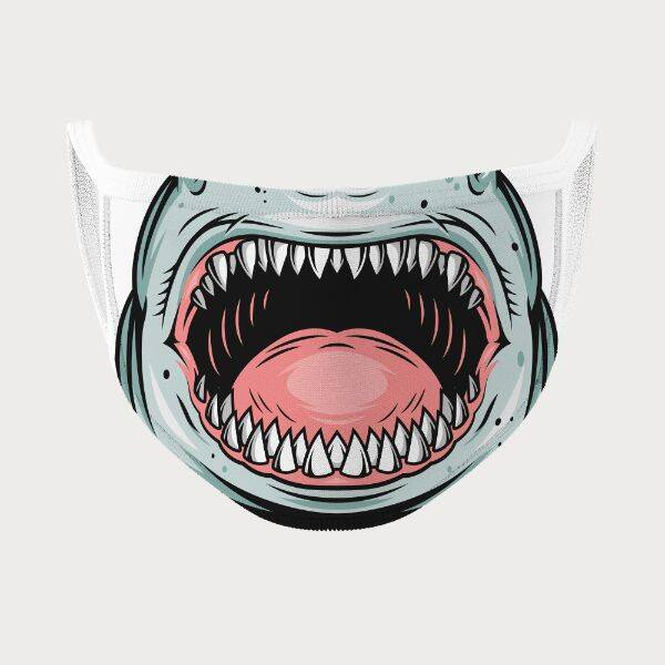 Köpek Balığı Dişleri Ağız Maskesi