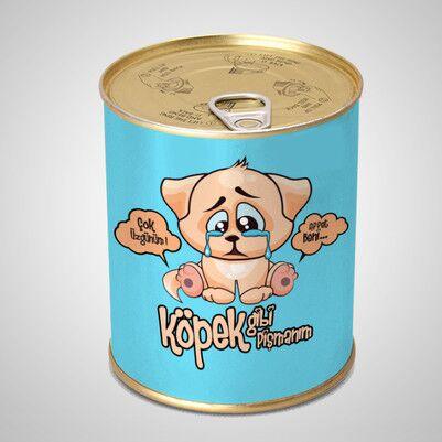 Köpek Gibi Pişmanım Çikolata Konservesi - Thumbnail