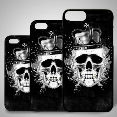 - Kral Kuru Kafa Temalı iPhone Telefon Kılıfı