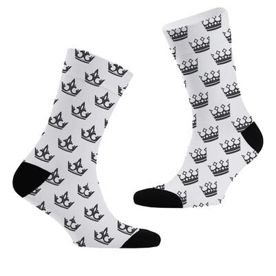 - Kral ve Kraliçe Tacı 2'li Çorap Seti