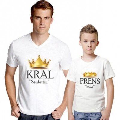 - Kral ve Prens İkili Tişörtleri