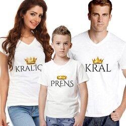 - Kraliyet Ailesi 3'lü Tişört Seti