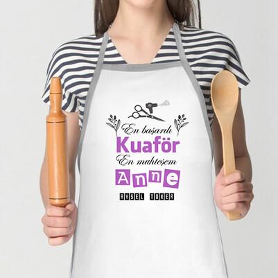 - Kuaför Annelere Özel Mutfak Önlüğü