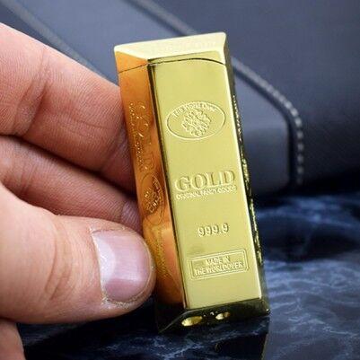 - Külçe Altın Şeklinde Çakmak