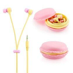 Kurabiye Şeklinde Macarons Kulaklıklar - Thumbnail
