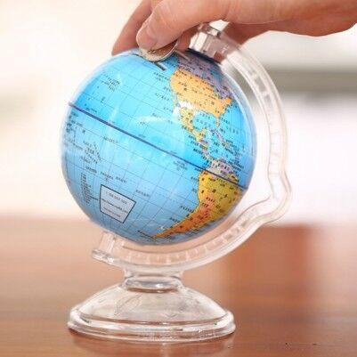 - Küre Dünya Haritası Kumbara