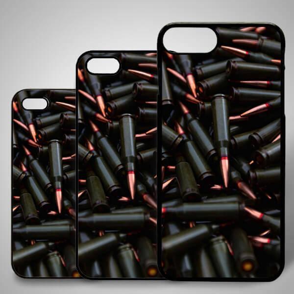 Kurşun Temalı iPhone Telefon Kapağı