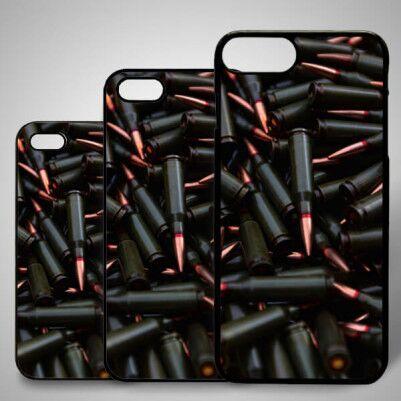 - Kurşun Temalı iPhone Telefon Kapağı