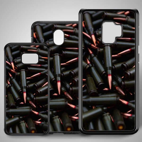Kurşun Temalı Samsung Telefon Kapağı