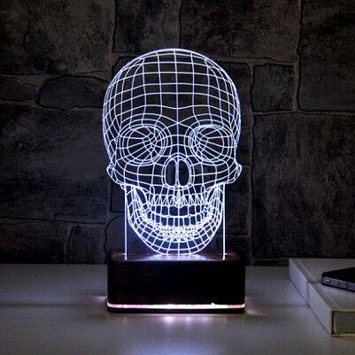 - Kuru Kafa 3 Boyutlu LED Gece Lambası
