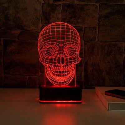 Kuru Kafa 3 Boyutlu LED Gece Lambası - Thumbnail