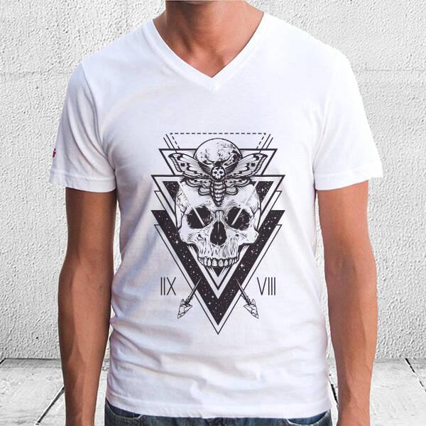 Kuru Kafa Tasarım Unisex Tişört