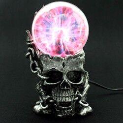 - Kuru Kafa Tasarımlı Işıklı Plazma Küre