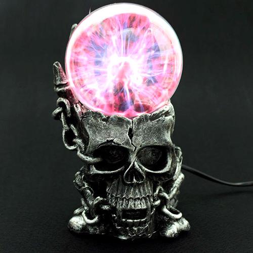 Kuru Kafa Tasarımlı Işıklı Plazma Küre
