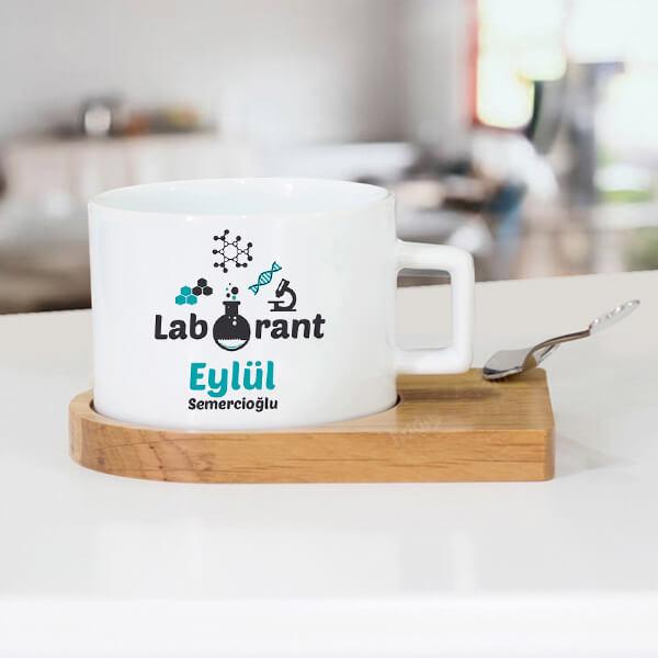 Laboranta Hediye Çay Fincanı